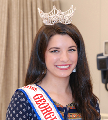 Callie Rice of Fortson is a force to be reckoned with. The 18-year-old home school graduate and ninth out of ten children is a full time Columbus Technical College student and was recently named the 2018 Miss Goergia Collegiate America.