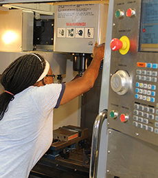 Students studying CNC and Machine Tool technology are honing their skills on the best equipment available while being taught by faculty with real-world experience.