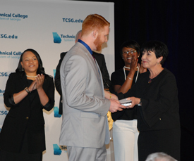 Columbus Technical College respiratory care technology student Trey Brown has been named the Technical College of Georgia's (TCSG) first runner-up in its annual Georgia Occupational Award of Leadership (GOAL) competition.
