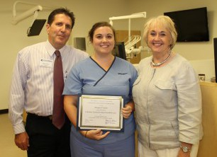 Cauley is the latest Columbus Technical College dental hygiene student to win the Emile T. Fisher Foundation Scholarship