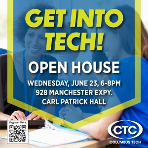 Get Into Tech graphic