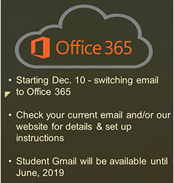 Student Emails Changing to Office 365