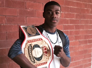 Carpentry Student Nails Statewide Boxing Title