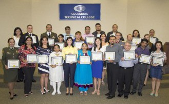photo showing English as a Second Language graduates
